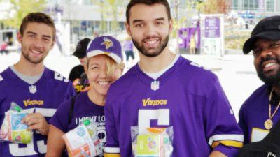 Minnesota Vikings Fans Score by Packing MATTERbox Snack Packs