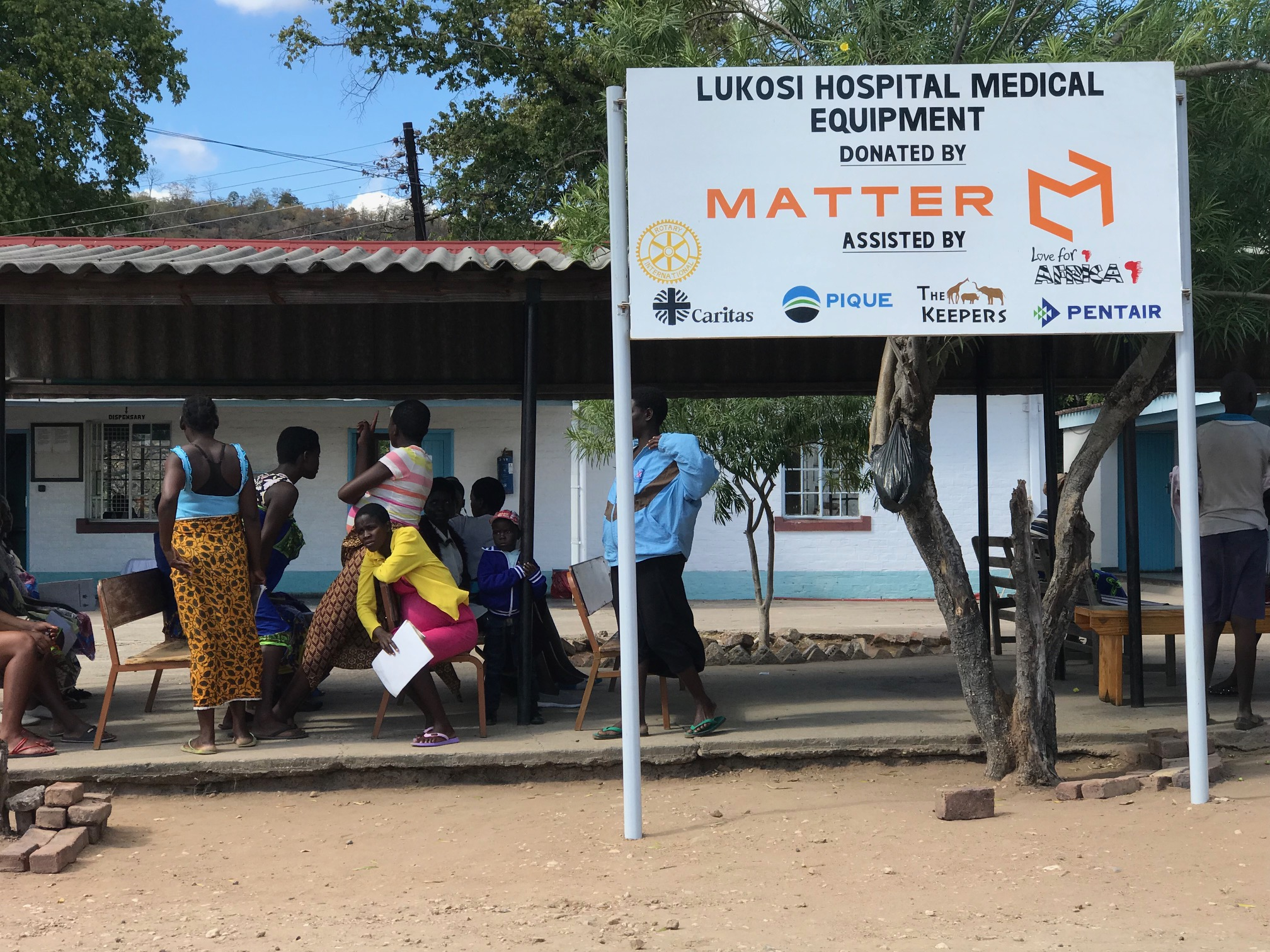 Innovation at Lukosi Hospital in Zimbabwe