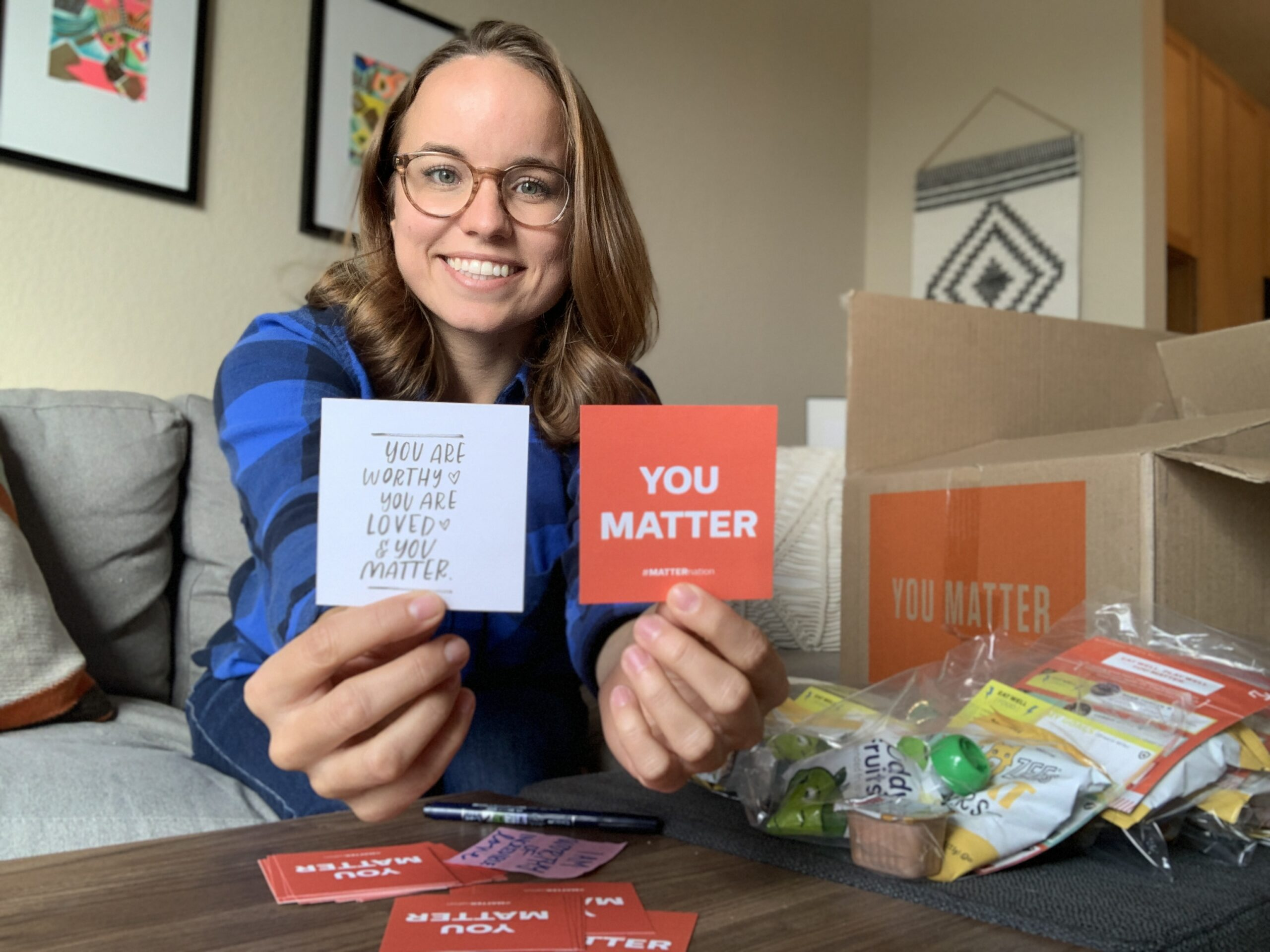 You Matter Here: Giving Back Provides Purpose and Hope