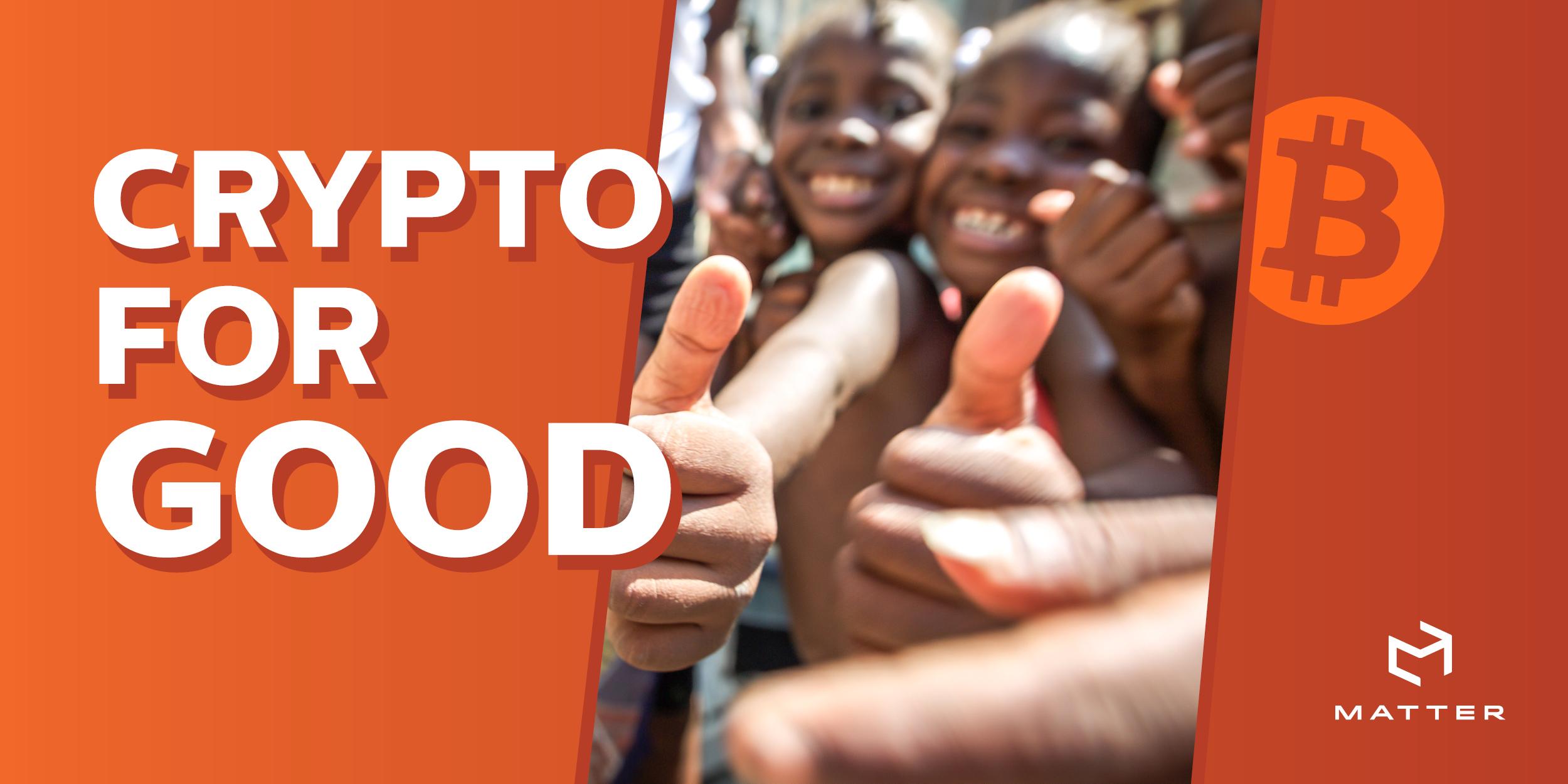 do social good bitcoin