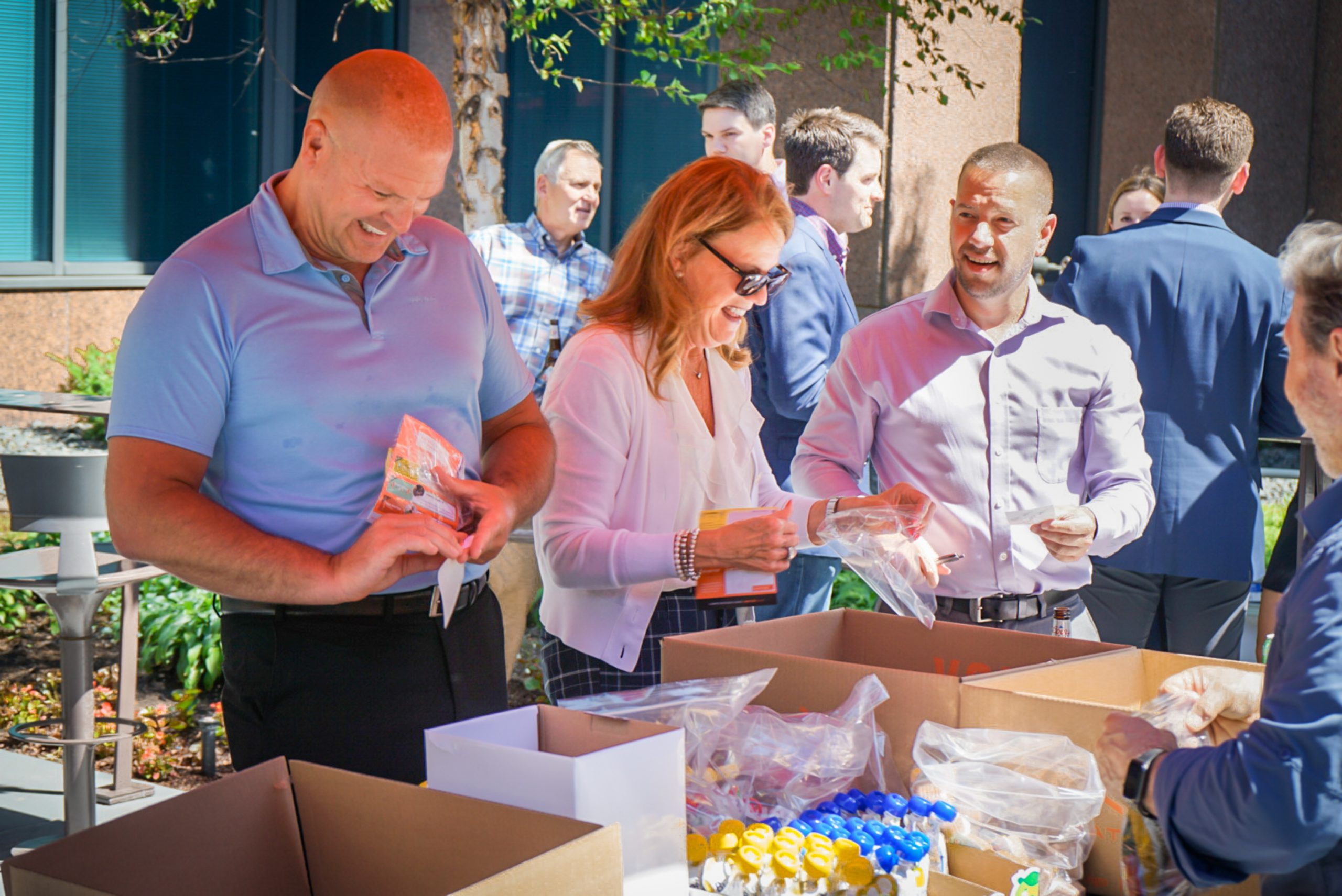 MATTER Packing Event - Colliers